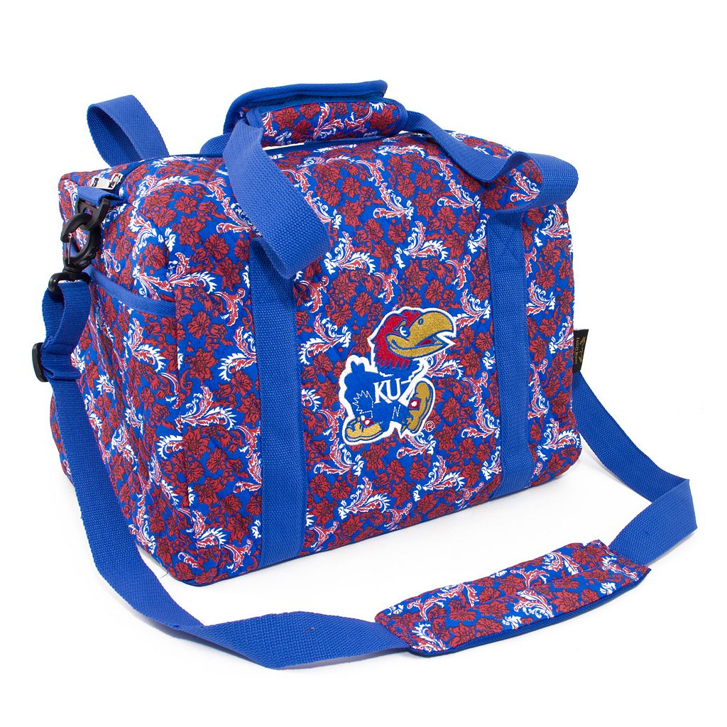 Kansas Jayhawks Bloom Mini Duffle Bag
