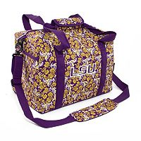 LSU Tigers Bloom Mini Duffle Bag