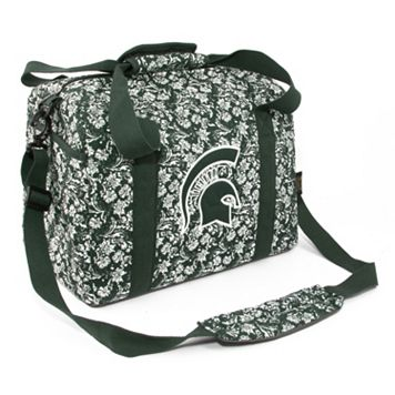 Michigan State Spartans Bloom Mini Duffle Bag