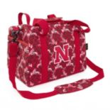 Nebraska Cornhuskers Bloom Mini Duffle Bag