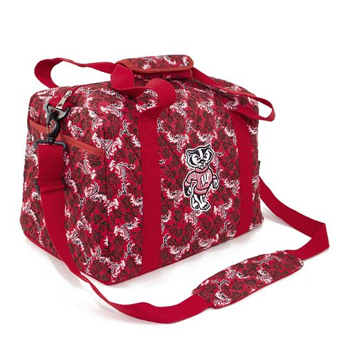 Wisconsin Badgers Bloom Mini Duffle Bag