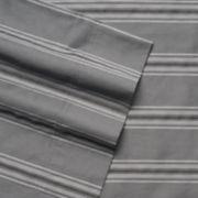 Grand Collection 300 Thread Count Regatta Stripe Sheet Set