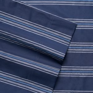 Grand Collection 300 Thread Count Regatta Stripe Sheet Set