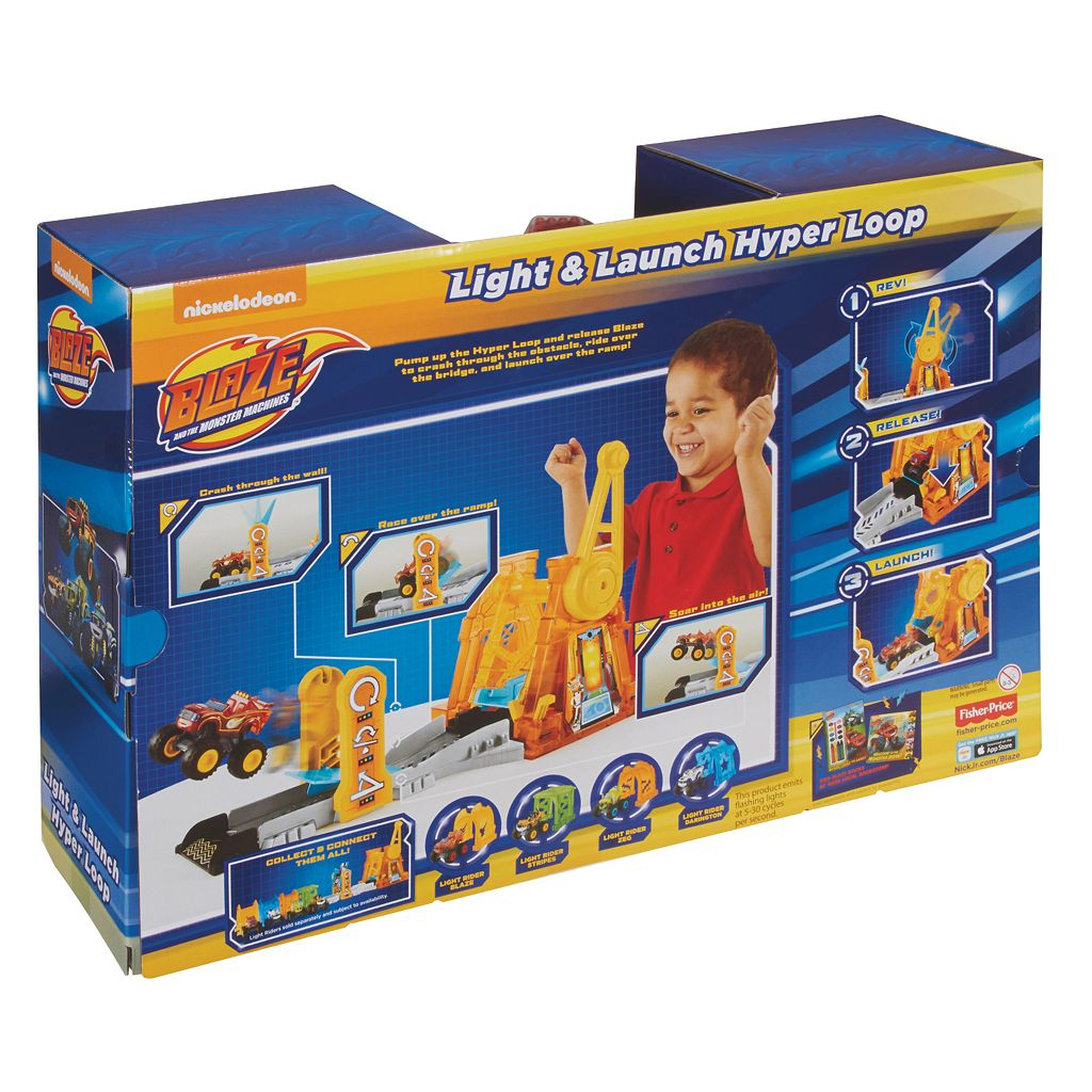Blaze & the Monster Machines Light & Launch Hyper Loop by Fisher-Price