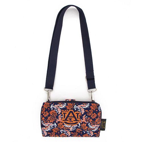 Auburn Tigers Bloom Crossbody Wallet