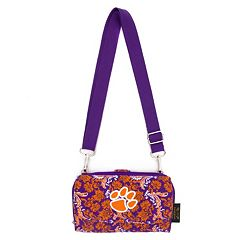 Clemson Tigers Bloom Crossbody Wallet