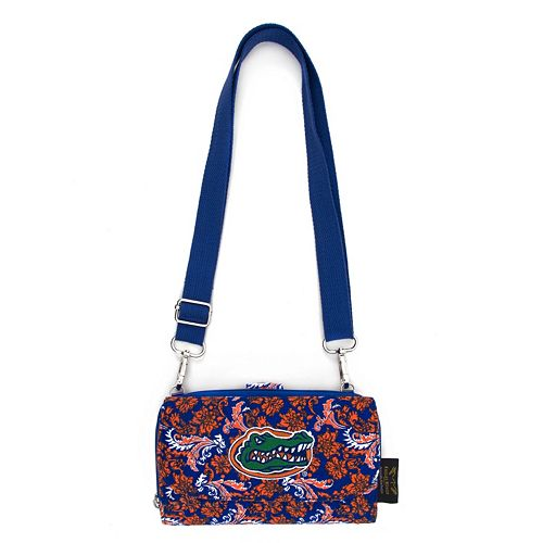 Florida Gators Bloom Crossbody Wallet