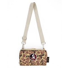 Florida State Seminoles Bloom Crossbody Wallet