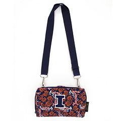 Illinois Fighting Illini Bloom Crossbody Wallet