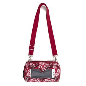 Indiana Hoosiers Bloom Crossbody Wallet