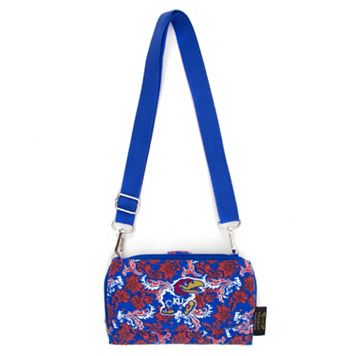 Kansas Jayhawks Bloom Crossbody Wallet