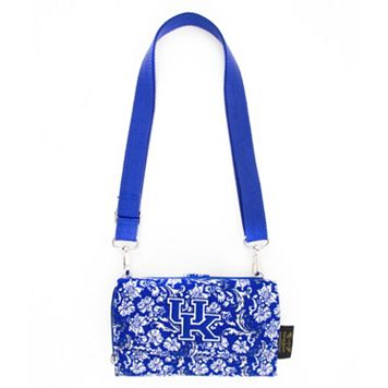 Kentucky Wildcats Bloom Crossbody Wallet