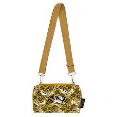 Missouri Tigers Bloom Crossbody Wallet