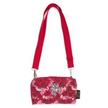 Wisconsin Badgers Bloom Crossbody Wallet