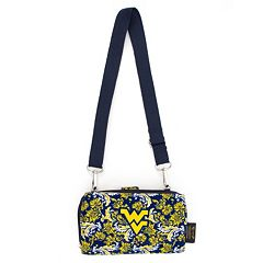 West Virginia Mountaineers Bloom Crossbody Wallet