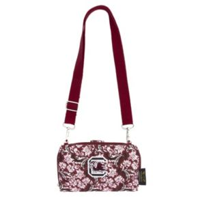 South Carolina Gamecocks Bloom Crossbody Wallet