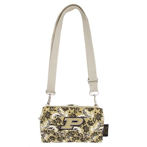 Purdue Boilermakers Bloom Crossbody Wallet