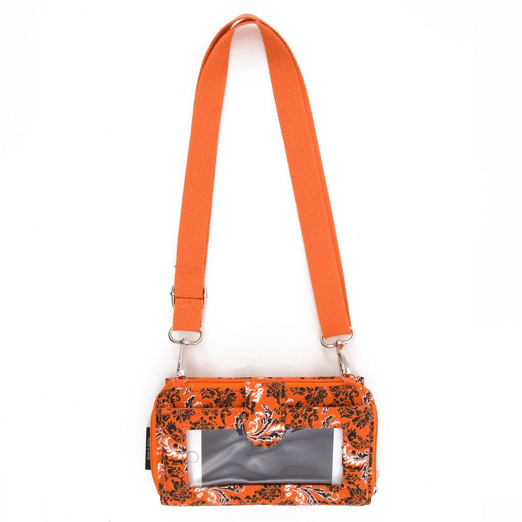 Oklahoma State Cowboys Bloom Crossbody Wallet