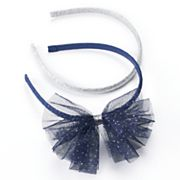 Girls 4-6x Carter's 2 pkGlitter Tulle Headbands