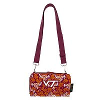 Virginia Tech Hokies Bloom Crossbody Wallet