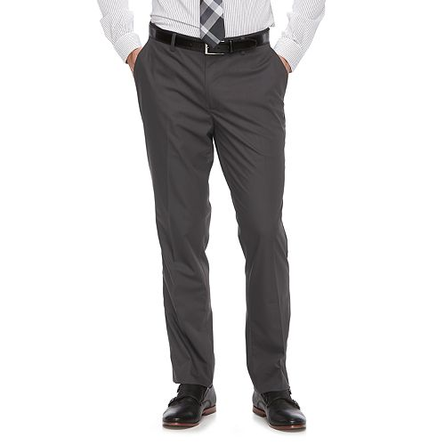 Men's Apt. 9® Silk Touch Extra-Slim Fit Stretch Flat-Front Dress Pants