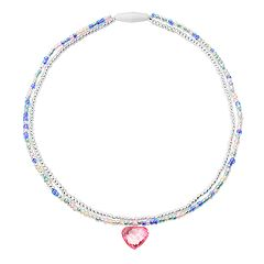 Girls 4-6x Carter's Double Strand Heart Necklace