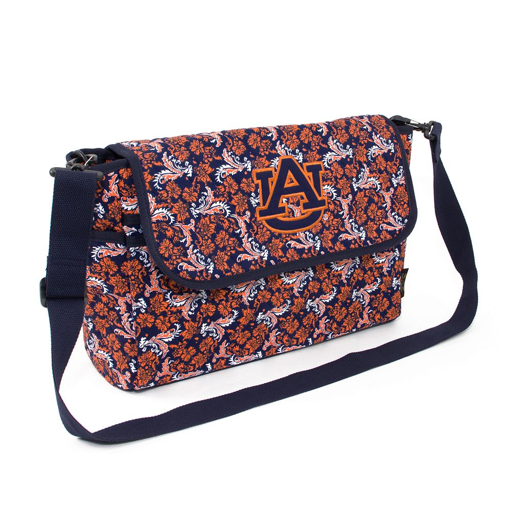 Auburn Tigers Bloom Messenger Bag