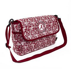 Alabama Crimson Tide Bloom Messenger Bag