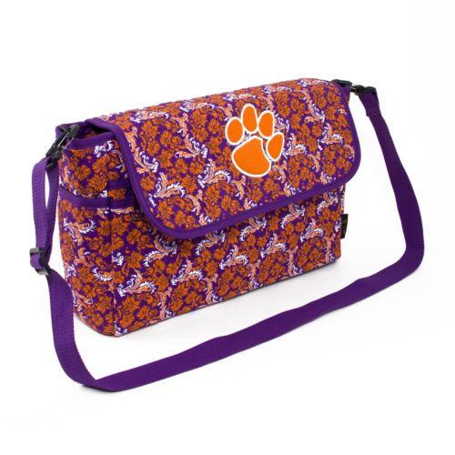 Clemson Tigers Bloom Messenger Bag