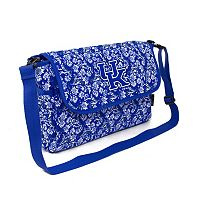 Kentucky Wildcats Bloom Messenger Bag
