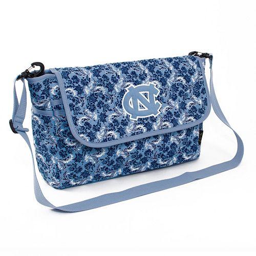 North Carolina Tar Heels Bloom Messenger Bag
