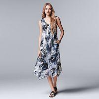 Women's Simply Vera Vera Wang Print Midi Dress