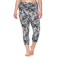 Plus Size Gaiam Yoga Capri Pants