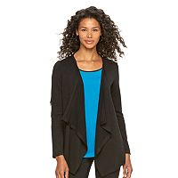 Women's Dana Buchman Mock-Layer Cardigan