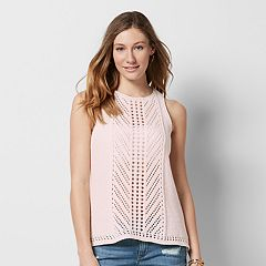 Women's SONOMA Goods for Life™ Crochet Tank