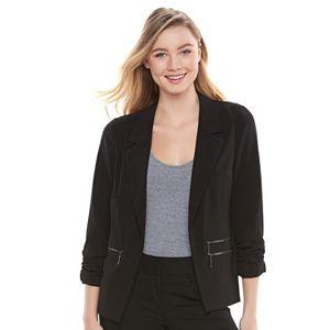 Juniors' Candie's® Split Back Blazer