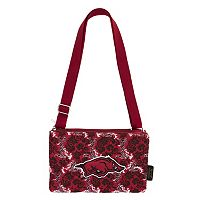 Arkansas Razorbacks Bloom Crossbody Bag