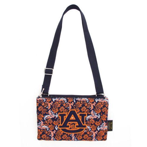 Auburn Tigers Bloom Crossbody Bag
