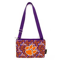 Clemson Tigers Bloom Crossbody Bag