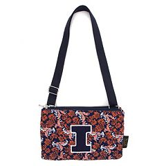 Illinois Fighting Illini Bloom Crossbody Bag