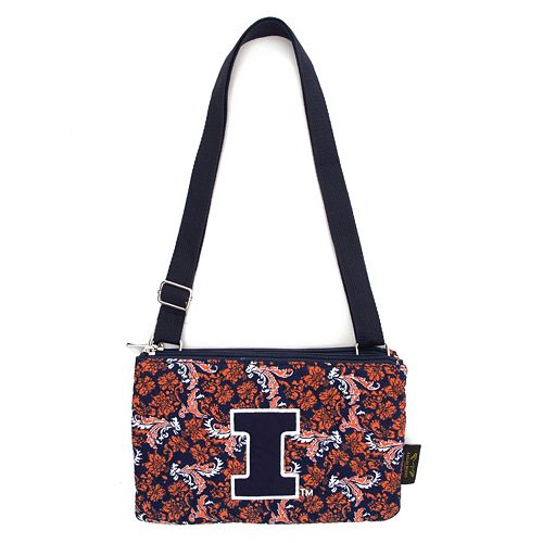 Illinois Fighting Illini Bloom Crossbody Bag