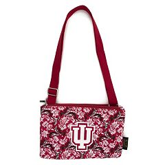 Indiana Hoosiers Bloom Crossbody Bag