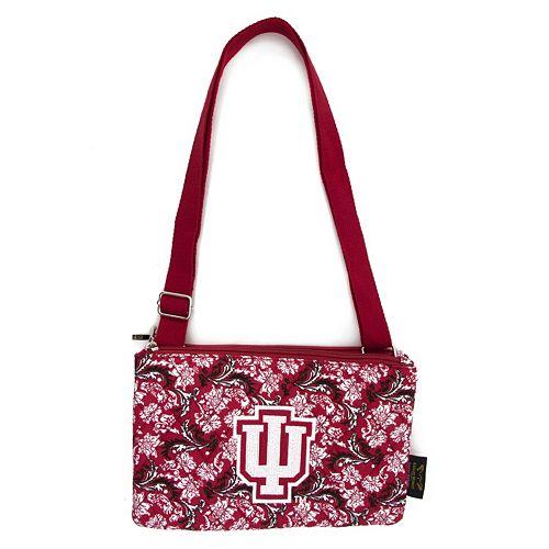 Indiana Hoosiers Bloom Crossbody Bag