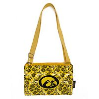 Iowa Hawkeyes Bloom Crossbody Bag