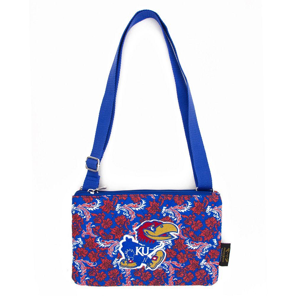 Kansas Jayhawks Bloom Crossbody Bag