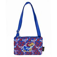 Kansas Jayhawks Bloom Crossbody Bag