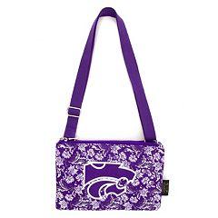 Kansas State Wildcats Bloom Crossbody Bag