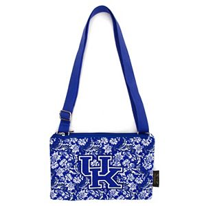 Kentucky Wildcats Bloom Crossbody Bag