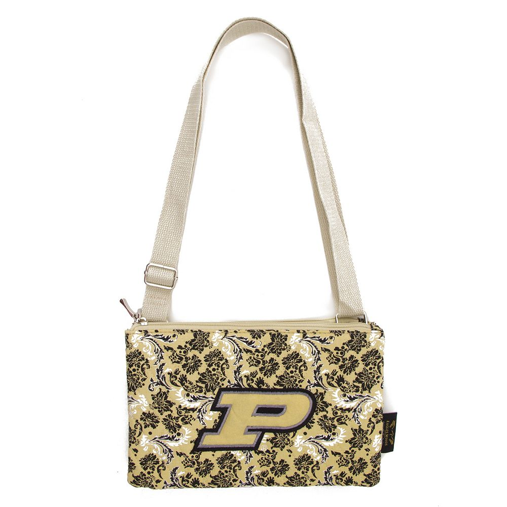 Purdue Boilermakers Bloom Crossbody Bag