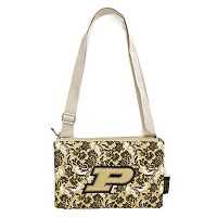 Purdue Boilermakers Bloom Crossbody Bag